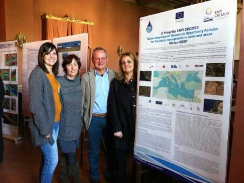 Water-DROP for World Water Day 2014 at Accademia dei Lincei, Italy