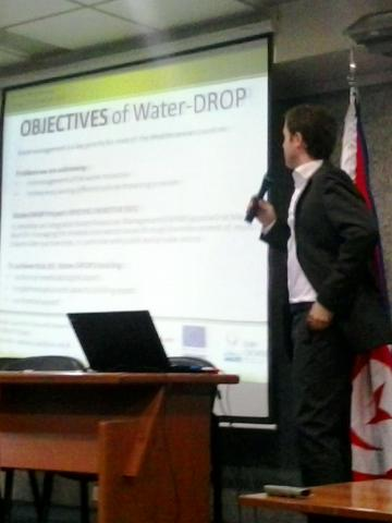 Water-DROP at first Conference of LANDCAREMED Project in Lebanon