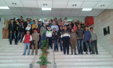 Awareness campaign on Sustainable Water Management, Al Balqa Jordan