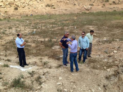 Field visit to Lebanon pilot sites in Hermel and Batroun