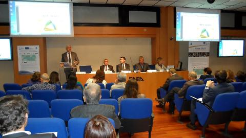 "Water-Drop project Capitalization seminar - ""Italian experiences in ENPI CBC MED projects"""