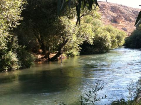 Water-DROP tour of pilot actions sites in Jordan, Palestine, Lebanon 2014