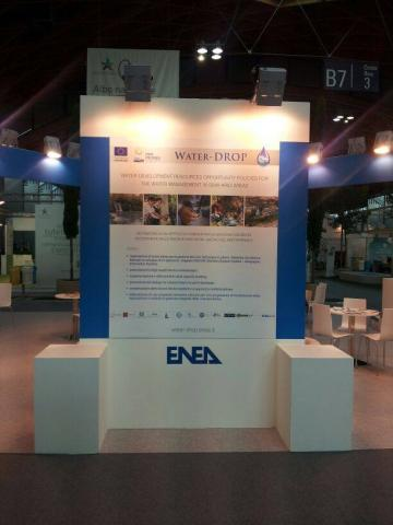 Water-DROP at ECOMONDO FAIR-The Mediterranean platform for the sustainable growth, Rimini, Italy