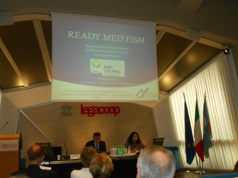 Participation to Capitalization event of R.E.A.D.Y. MED. Fish project in Rome, Italy