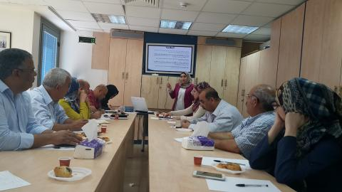 Awareness Campaigns in Beni Zeid municipality schools, Palestine