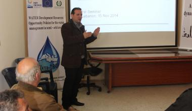 Water-DROP Seminar on Phytodepuration with trout farmers in Lebanon