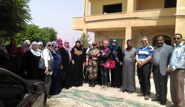 Water-DROP exchange visits of women in Allaan Village, Jordan