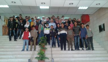 Awareness campaign on Sustainable Water Management, Al Balqa Jordan