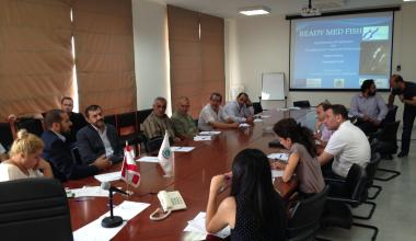 Water-DROP project at the ENPI CBCMED- READY MED FISH Project Capitalisation Meeting in Beirut