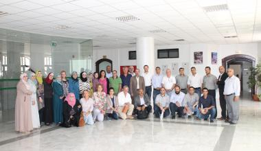 Graduation of GIS training course and meeting with local beneficiaries of Al Balqa governorate, Jordan