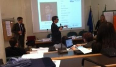 "Training for Beneficiaries ""Communication and visibility""- MEDITERRANEAN SEA BASIN PROGRAMME 2007-2013 Standard projects (second call), Rome, Italy"