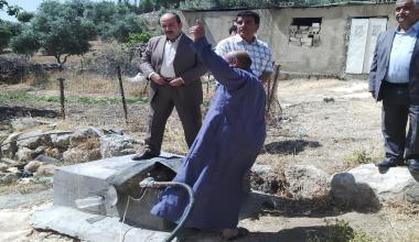 Water-DROP Pilot site activities in Lebanon, Palestine and Jordan