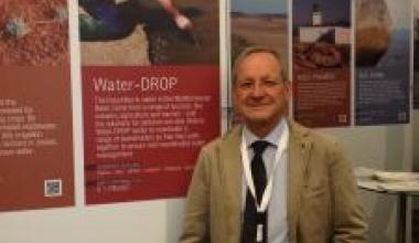 Water-DROP at the ENPI CBC MED NextMed Conference in Rome, Italy