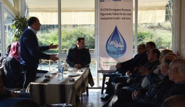 Water-DROP Seminar with local stakeholders in Hermel, Lebanon.